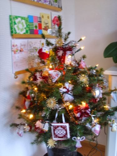 Borduurblog Kerstboom 2013 En Giveaway