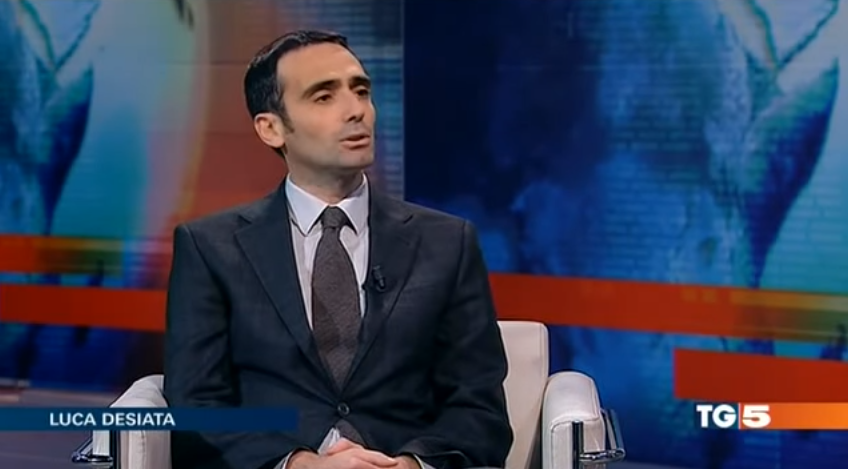Un passage télé en Italie sur les échecs et stratégie d'entreprise par Luca Desiata