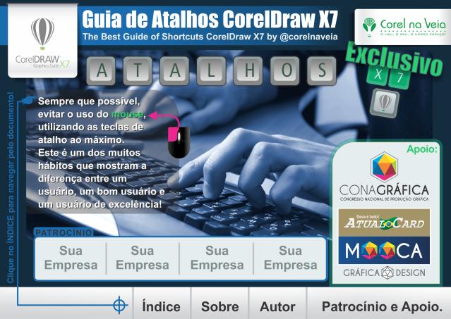 Guia Interativo de Atalhos by Corel na Veia