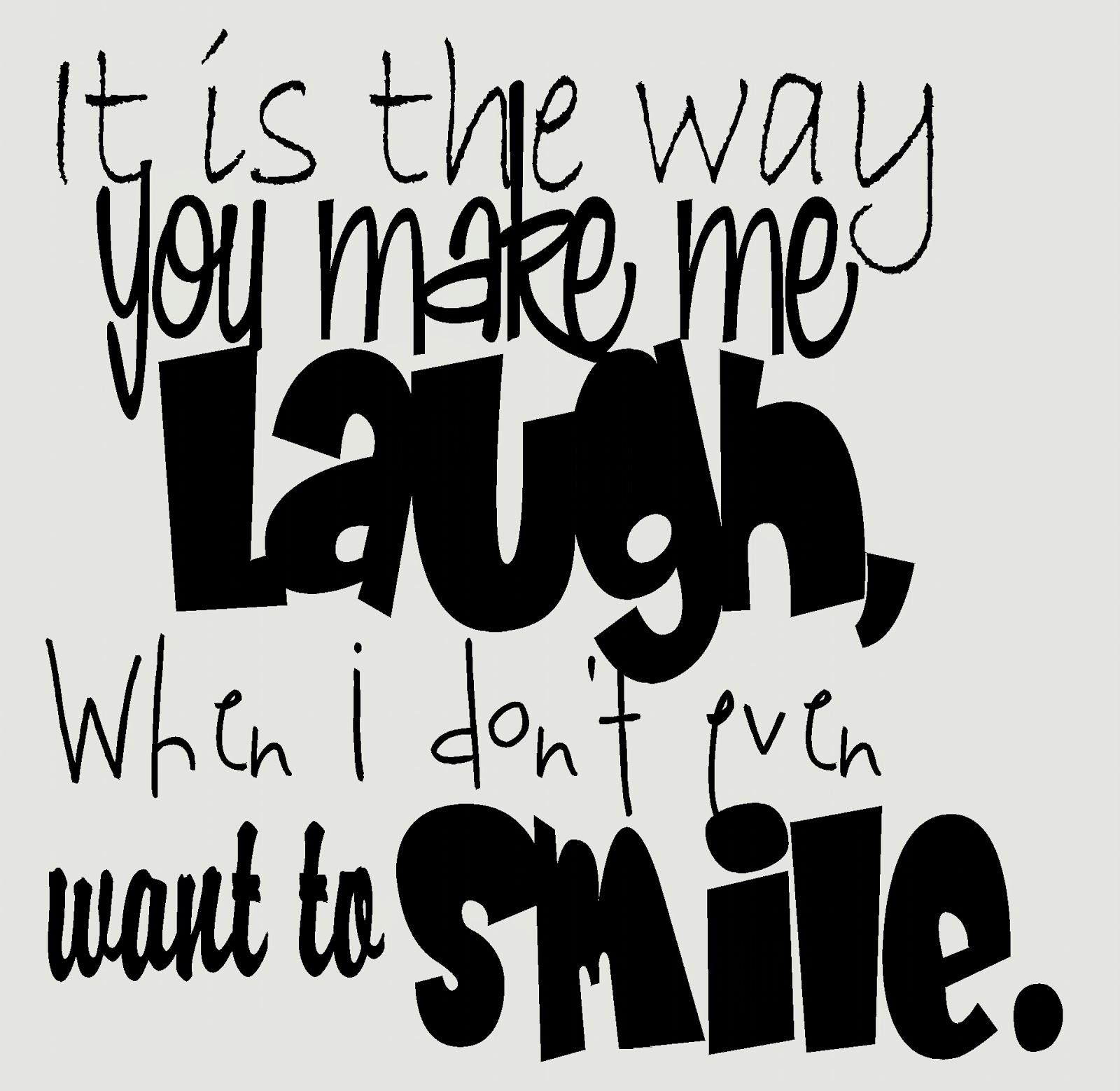 Laugh Makes Me Laugh