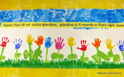 Maestra caterina cartellone per accoglienza for Idee per cartelloni scuola infanzia