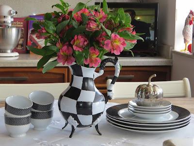 Makenzie-Childs inspired tea pot
