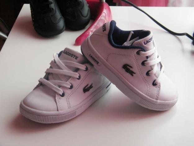 só para pequenos  tênis Lacoste para bebê!!! aabdef4727