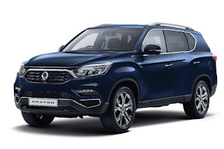 SsangYong Rexton (2018) Front Side 2