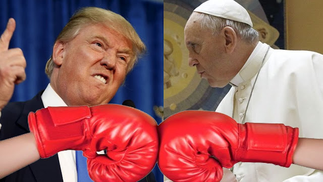 Donald Trump Fights Back The Pope; Calls Him Disgraceful And A Pawn