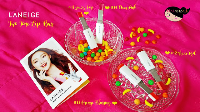 Laneige 2016 Two Tone Lip Bar pinknomenal.blogspot.com