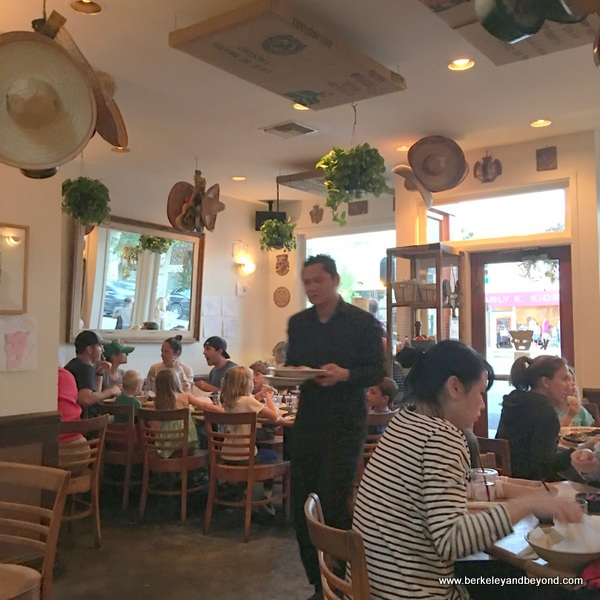 interior of kayndaves in Pacific Palisades, California