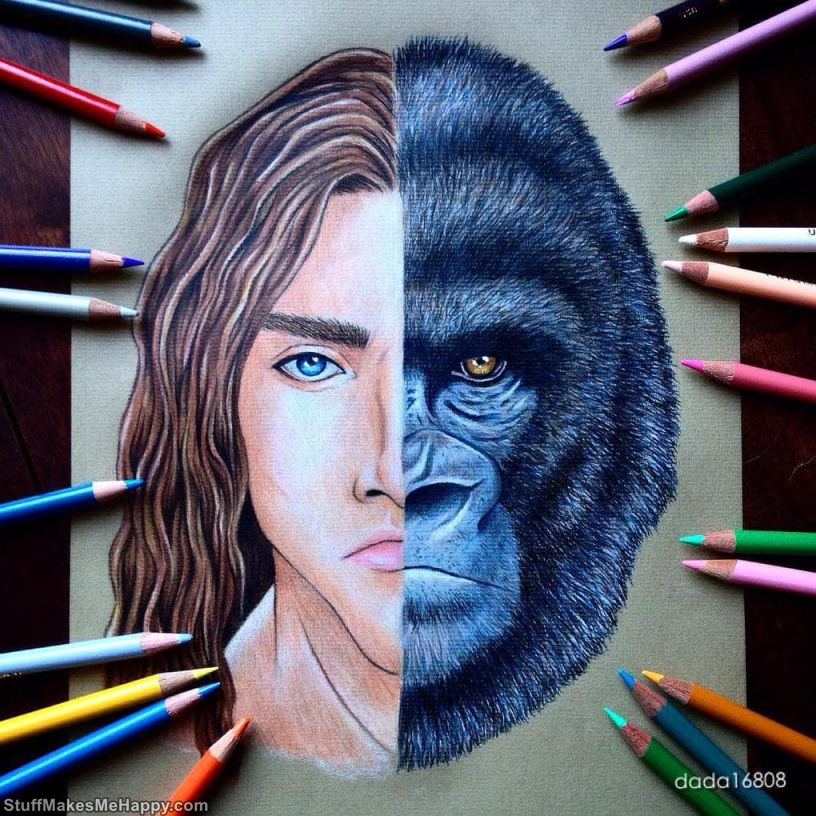 7. Tarzan and Kerchak