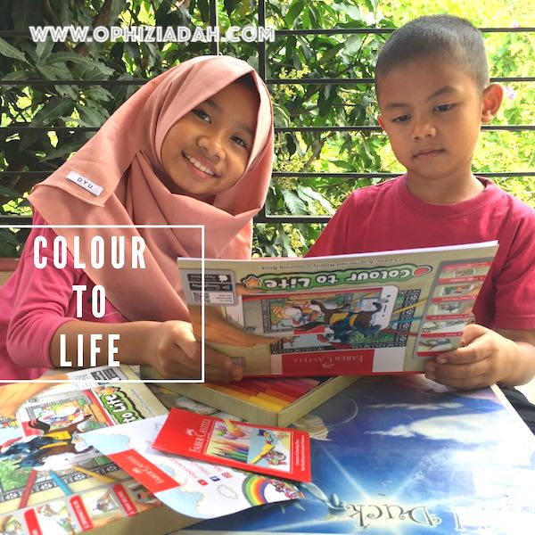 Family Fun Time With Colour to Life Faber-Castell