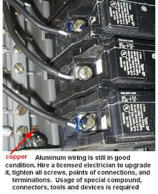 flickering lights and unstable voltage indicate problems with aluminum wiring. Call Windsor-Essex electrician 226 783 4016