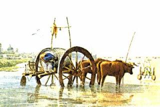 """El aguatero"" - Acuarela de Carlos Pellegrini (1831)"