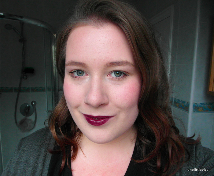 natural dark berry lipstick