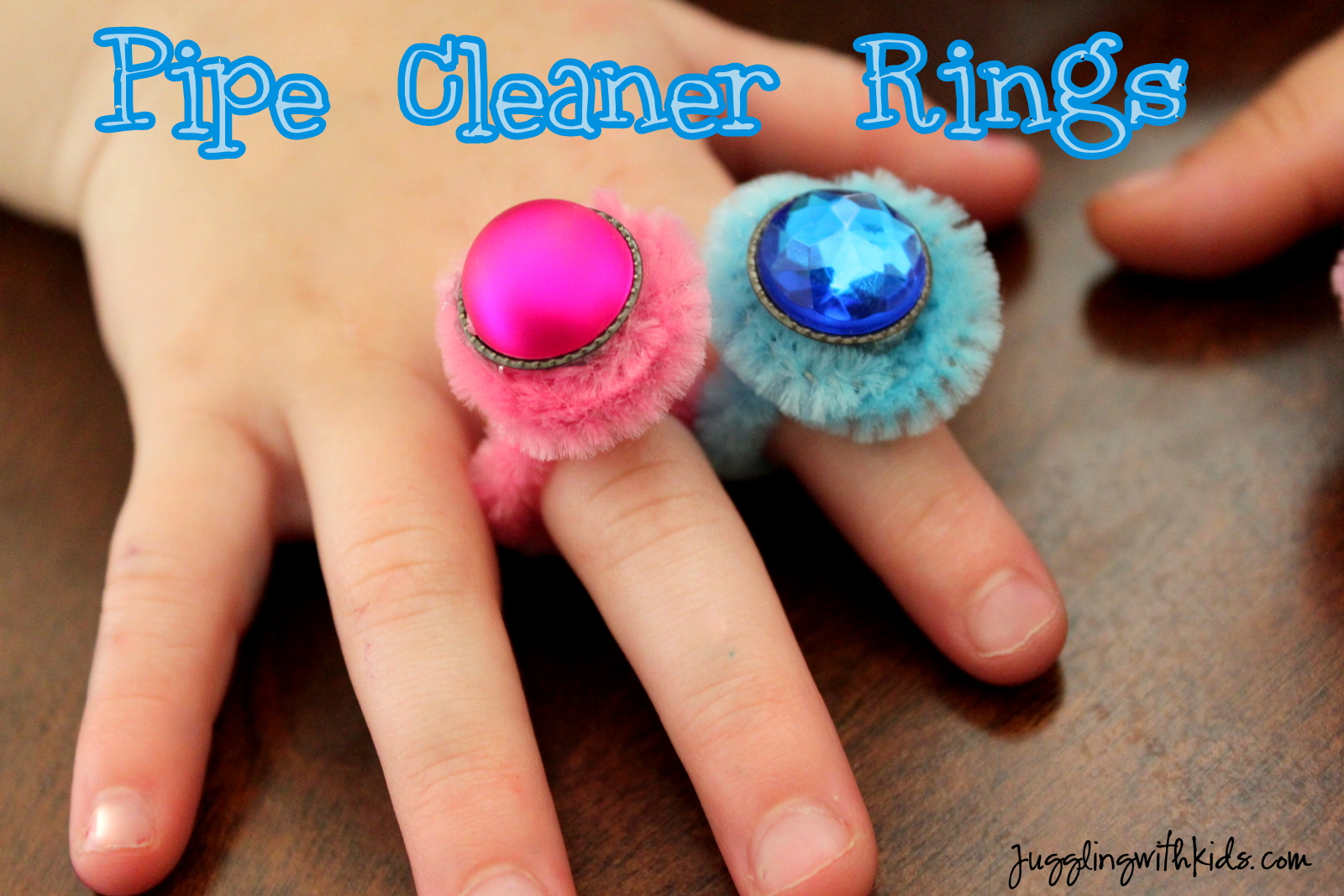 Pipe Cleaner Rings  Juggling With Kids