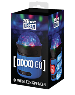 trust urban 21347 dixxo go altoparlante bluetooth wireless