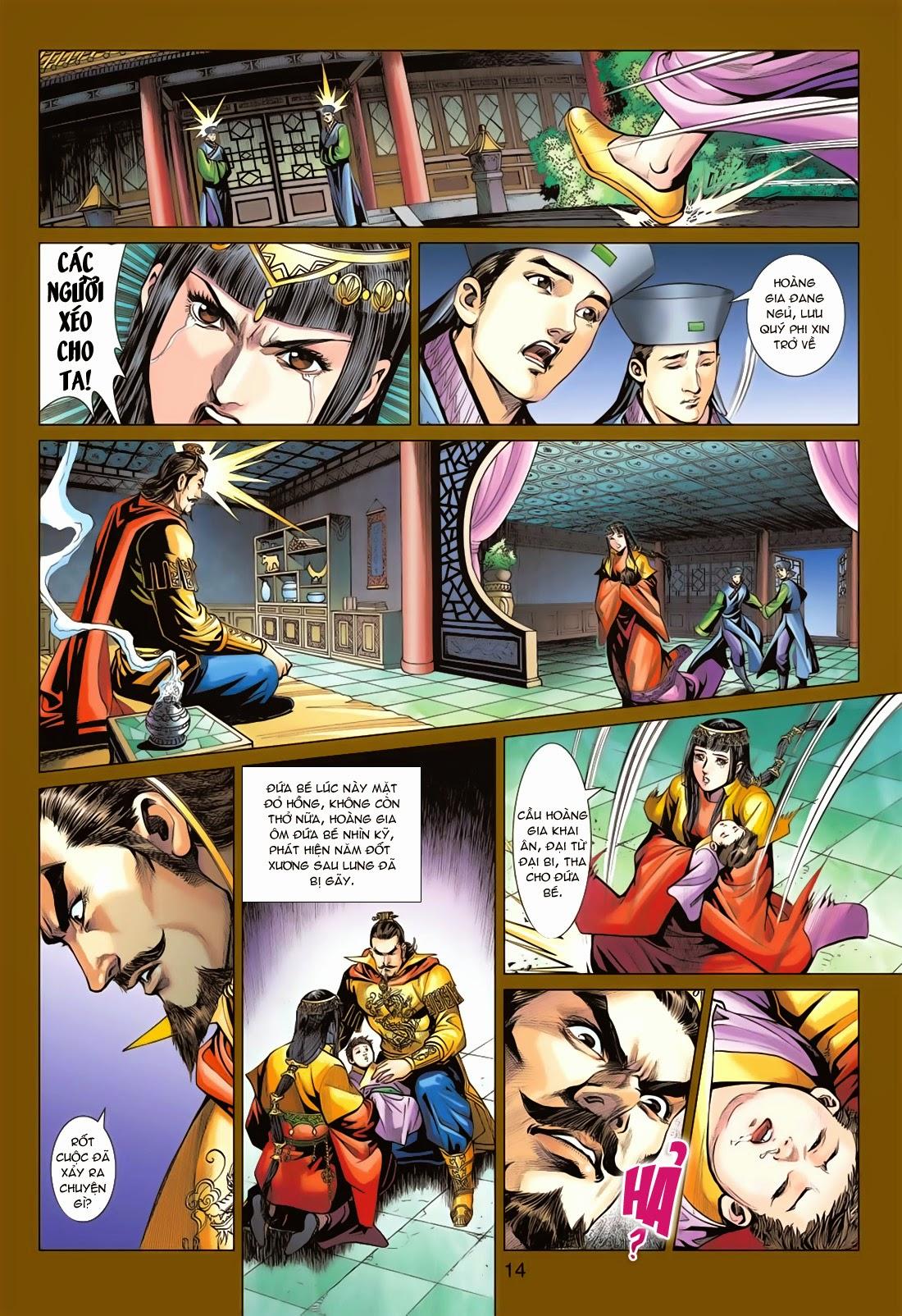 Anh Hùng Xạ Điêu anh hùng xạ đêu chap 78: sát anh trang 14