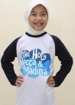 Kaos Anak-Anak Muslim Model Terbaru
