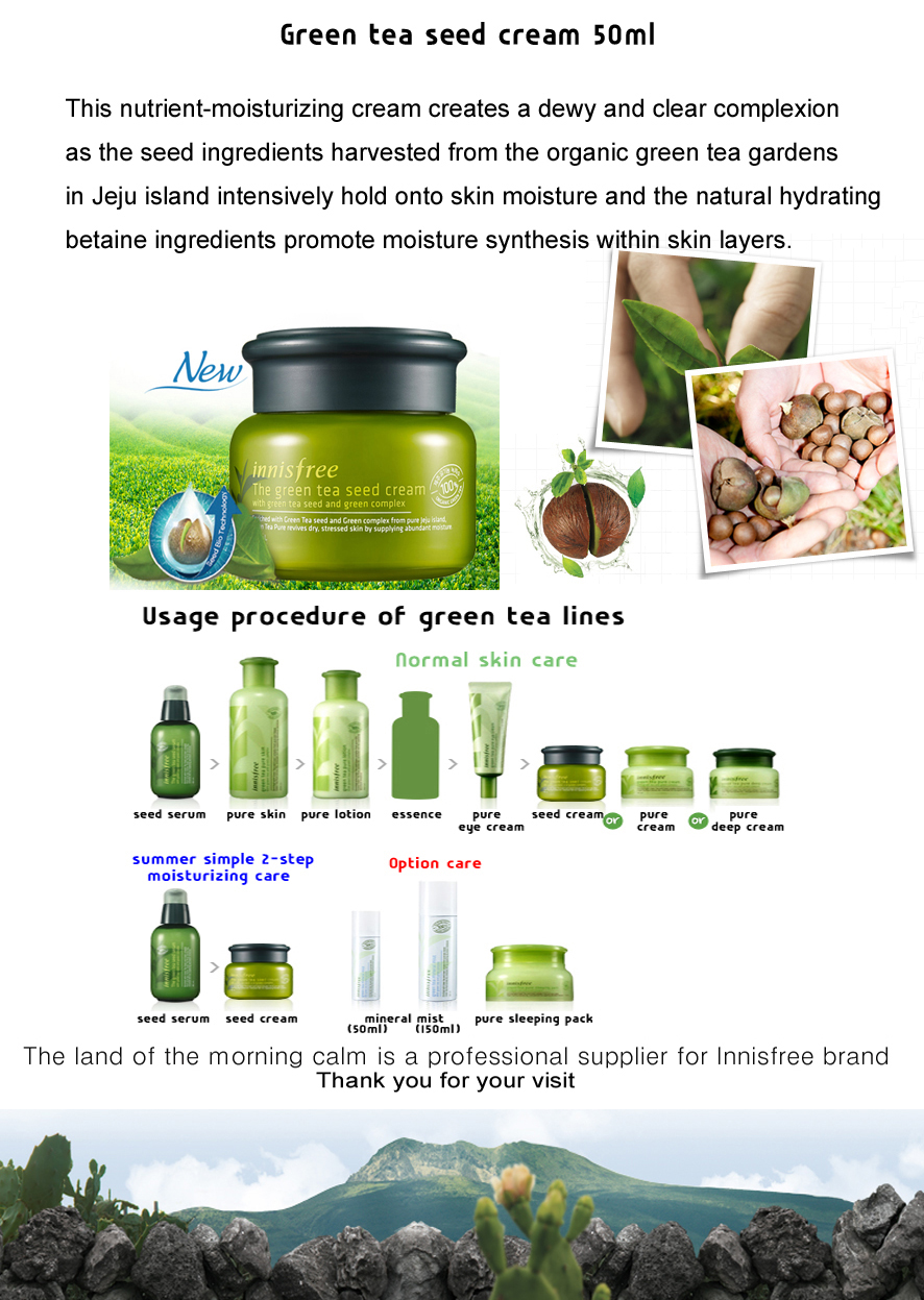 Review Innisfree Green Tea Seed Cream Serum Cleansing Foam Eye Description I Really Love Something With Moisturize Hydrating And Especially Feels So Fresh