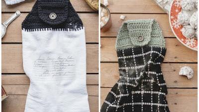 Sujeta-Trapos de cocina tejidos a crochet 14 formas diferentes