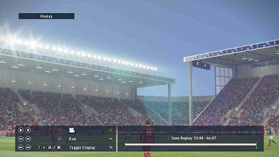 PES 2019 Stadium UCL & UEL Boards by Buzzy