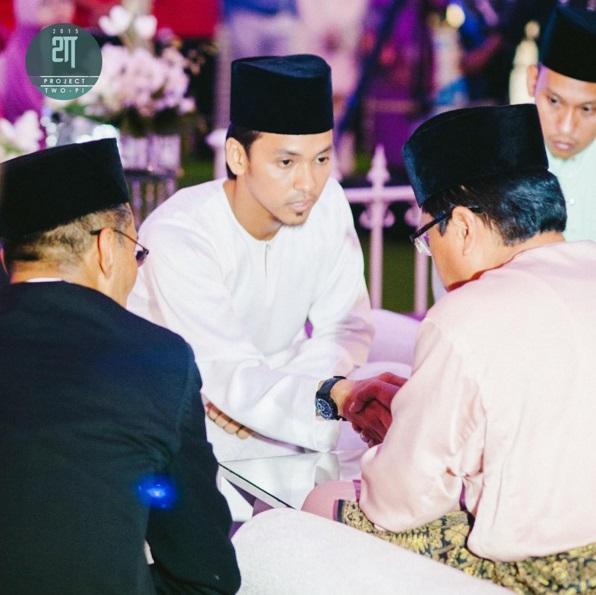 Majlis Akad Nikah Jihan Muse Dan Ungku Hariz di Shah Alam
