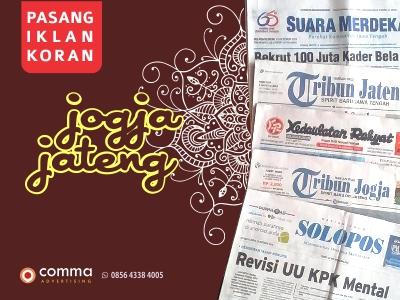 biro iklan koran jogja jateng