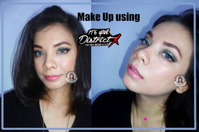 Makeup+menggunakan+District+X+PAC