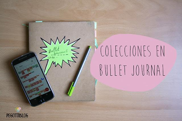 Bullet Journal: las colecciones