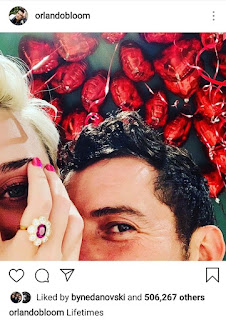 Orlando Bloom Shares Photo With Katy Perry On His Instagram Account