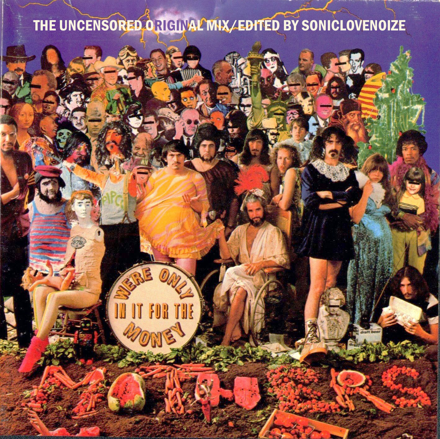 Albums That Never Were Frank Zappa We Re Only In It For