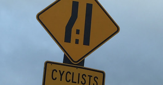 Hey you cyclists--Give Way!