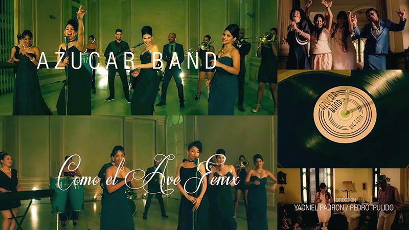 Azúcar Band - ¨Como el Ave Fénix¨ - Videoclip - Dirección: Yadniel Padrón - Pedro Pulido. Portal Del Vídeo Clip Cubano