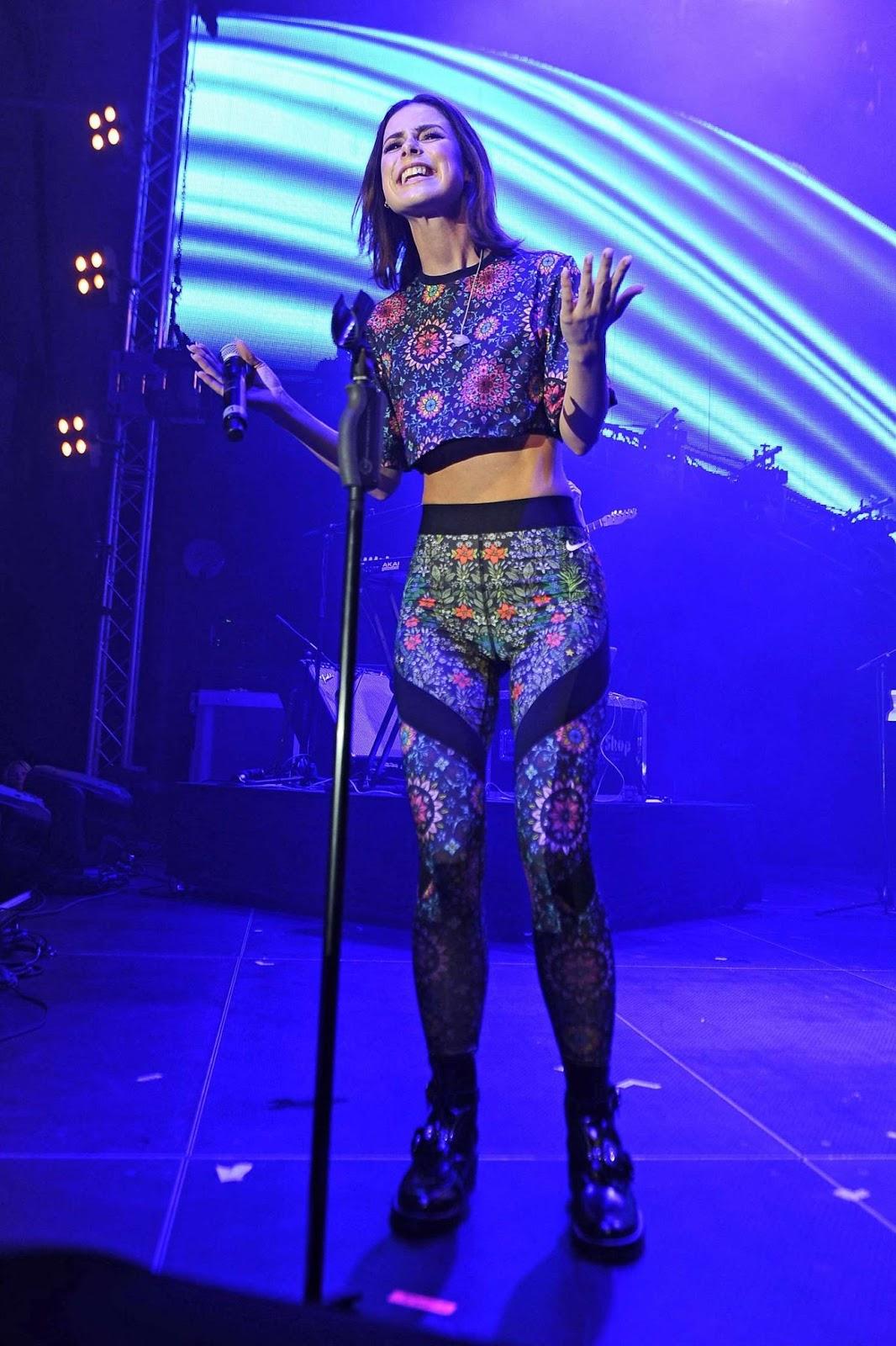 Lena Meyer Landrut Performs At Europepark In Rust August 9 2016