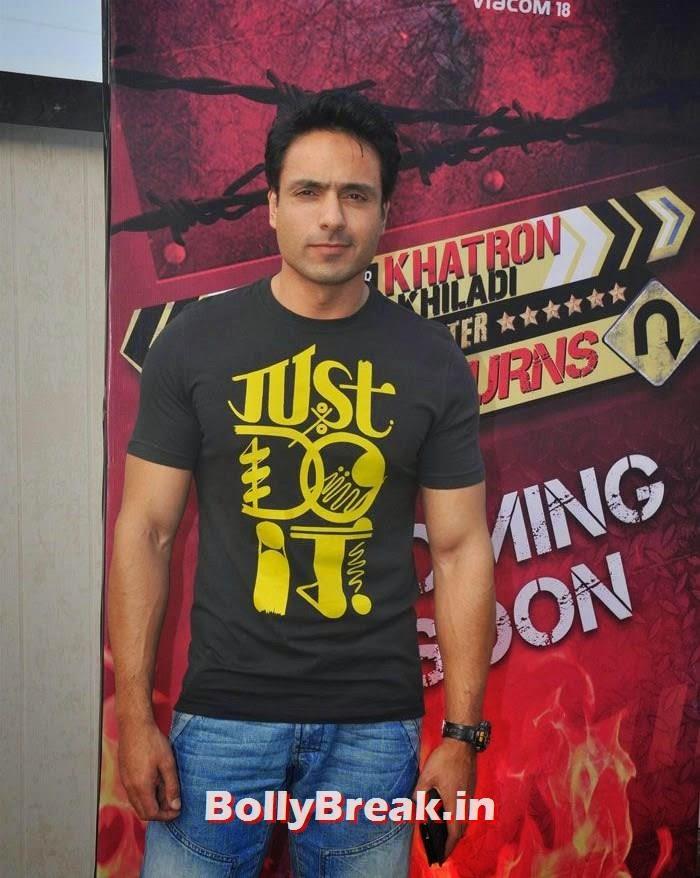 Iqbal Khan, 'Khatron Ke Khiladi' 6 Contestants Hot Pics