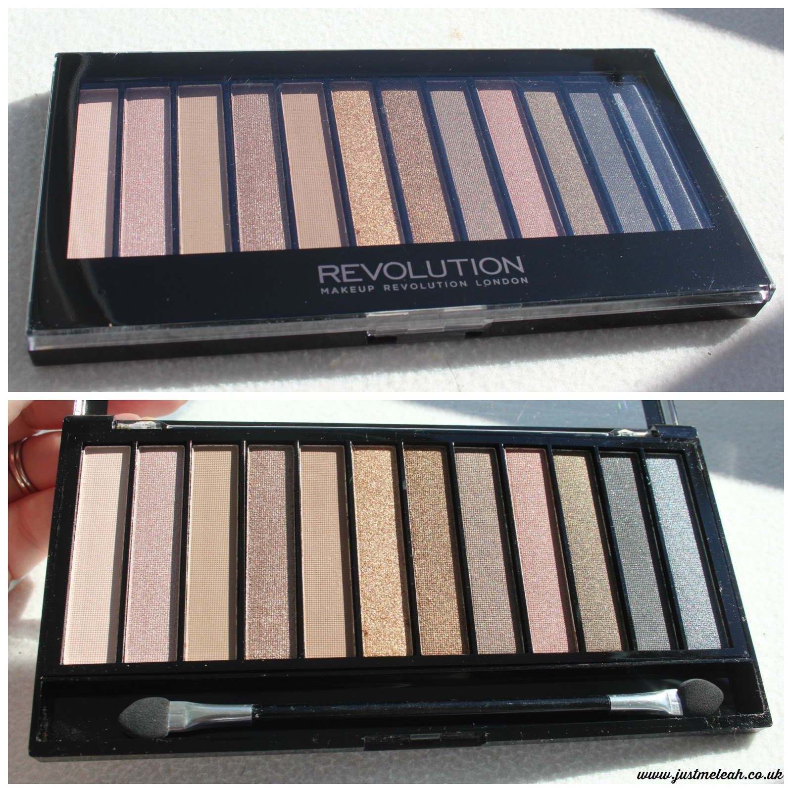 Makeup Revolution Iconic Palette 1 - Urban Decay Naked palette dupe