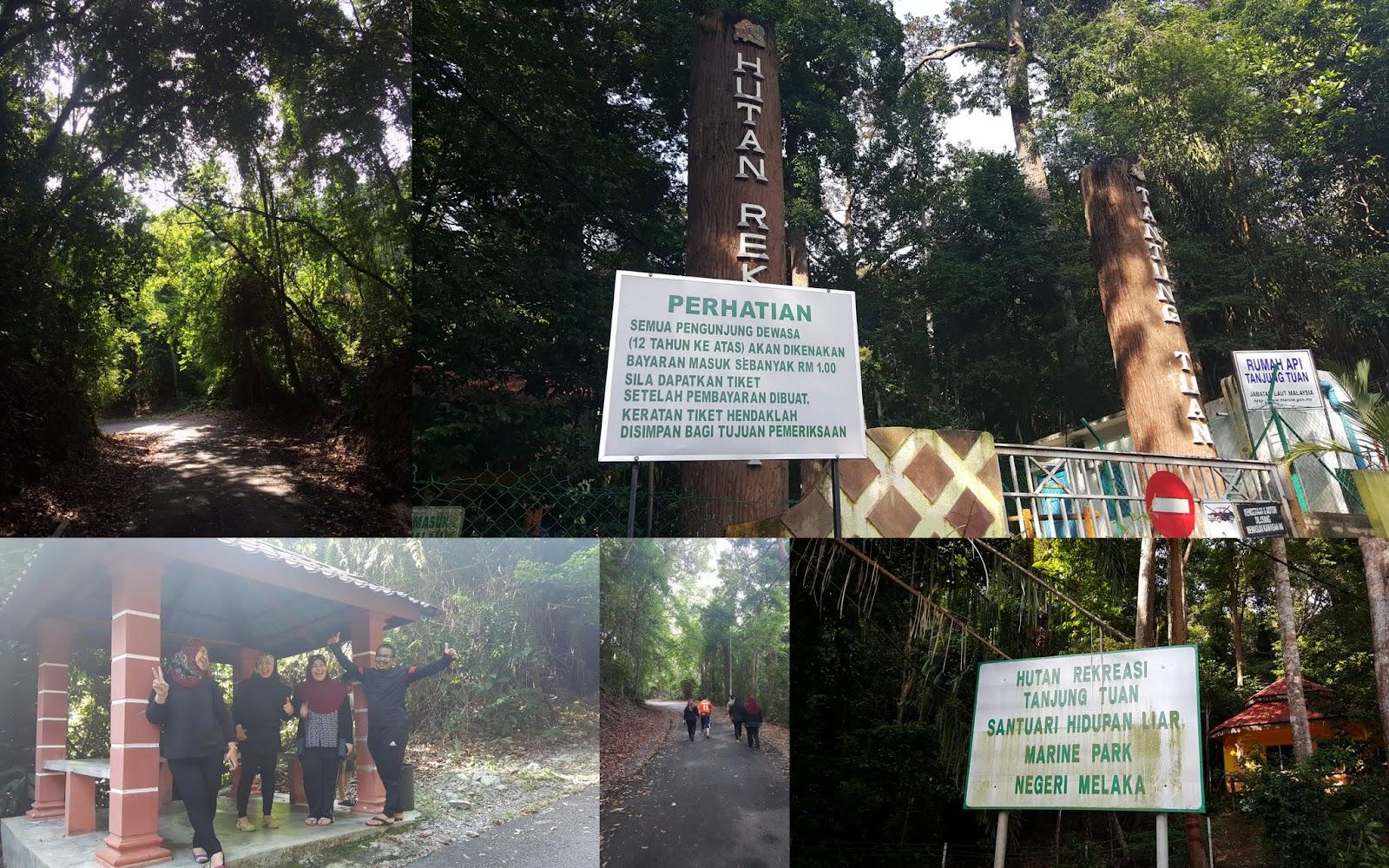 Hutan Rekreasi Tanjung Tuan, Melaka