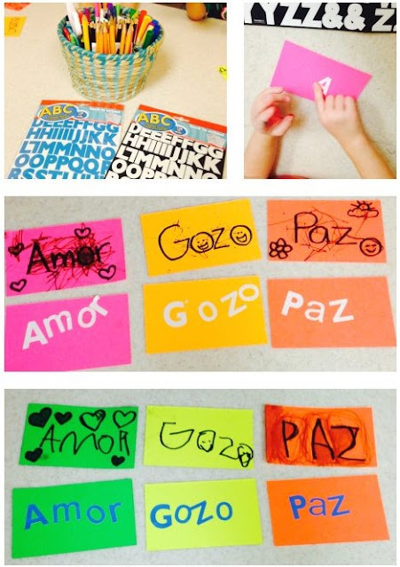 Lets Make Craft In Spanish and Chinese Language