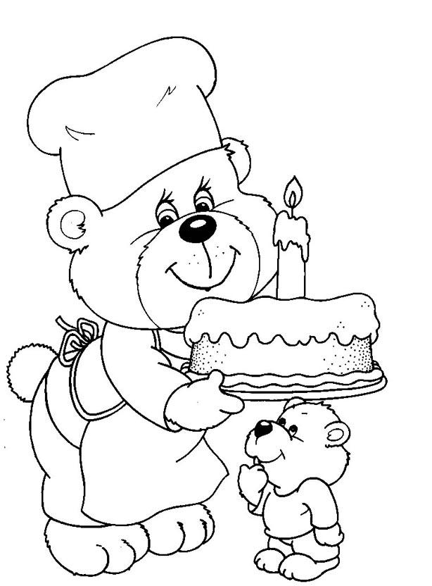 Apostila 50 Desenhos Moldes Se Riscos De Ursinhos Ursos Colorir