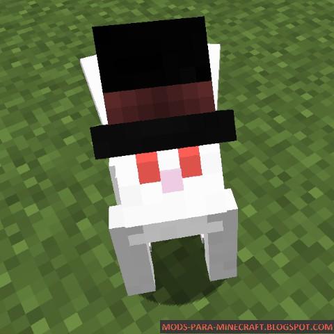 El conejo más elegante de Minecraft - Better Than Bunnies Mod 1.7.10