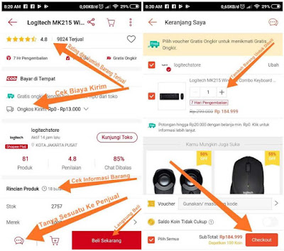 Cara Belanja di Shopee untuk Pemula Terbaru (100% SUKSES)