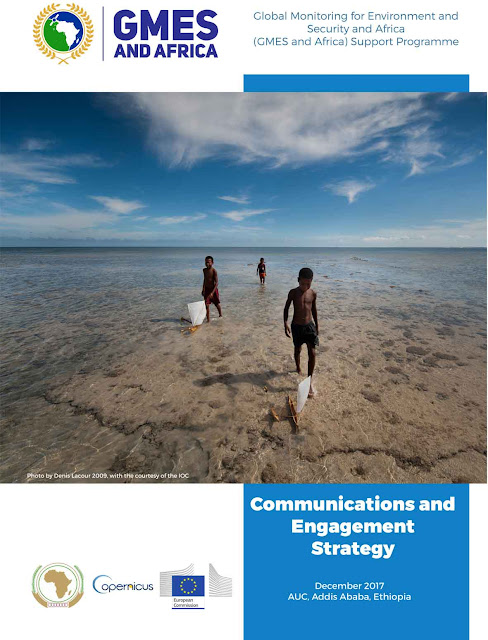 Cover page of the Communication and Engagement Strategy