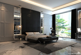 cuarto moderno elegante