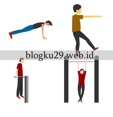 12 Gerakan Berolahraga - Adobe Flash cs6