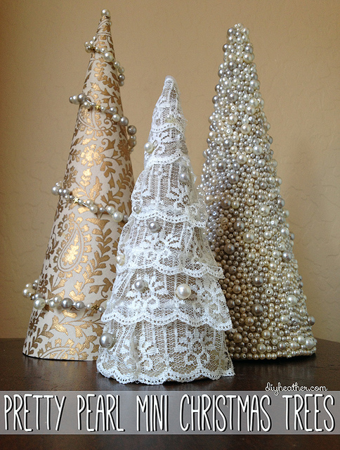 Beaded Christmas Tree Cones Tutorial The Beading Gems