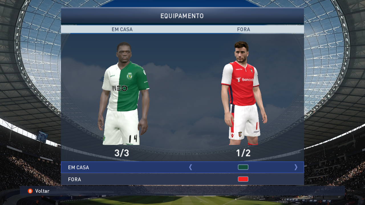 PES 2015 PC: Patch Tuga Vicio v9.0