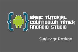 Belajar Membuat Aplikasi Countdown Timer di Android