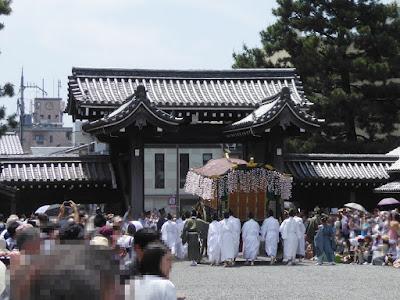 京都御苑・葵祭 堺町御門