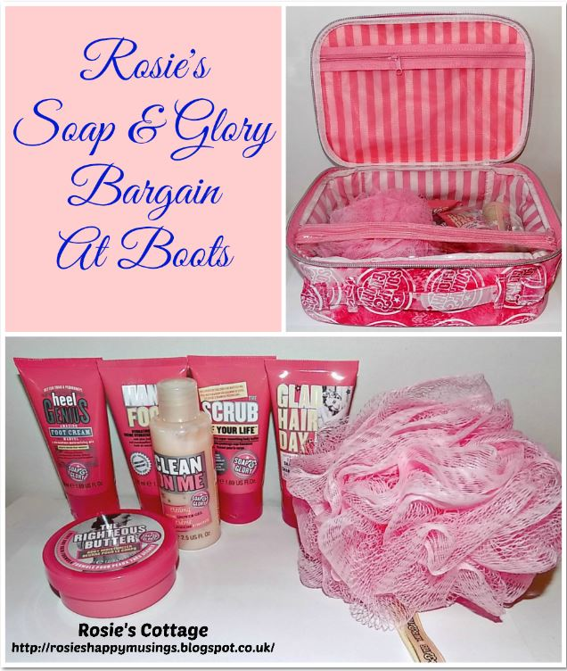 Rosies Soap & Glory Bargain at Boots
