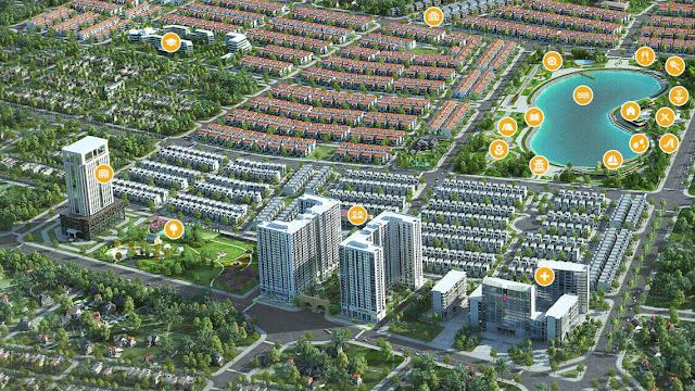 Phối cảnh chung cư Anland complex