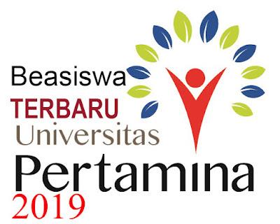 Beasiswa Universitas Pertamina 2019 / esaiedukasi.com