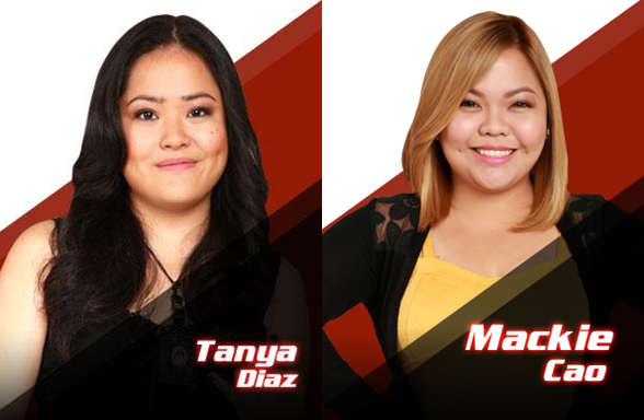 'The Voice PH' 7th Live Shows results: Tanya Diaz, Mackie Cao eliminated